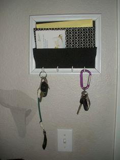 Lillian Pearl Designs: Mail Organizer Tutorial!