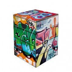 Graffiti Papphocker - Pappe   Home24, 18,90€