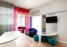 A Colorful Private Clinic That Will Brighten Children's Visits