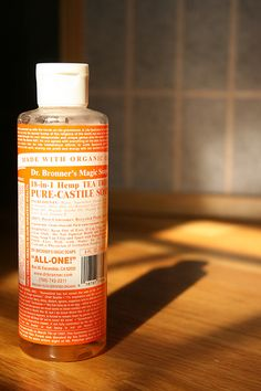 dr. bronners organic castle soaps.