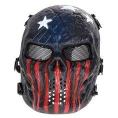 Full Airsoft Paintball Masks - Halloween - Bank Heist