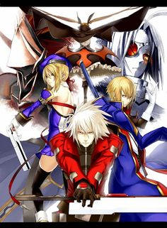 Jin and Ragna