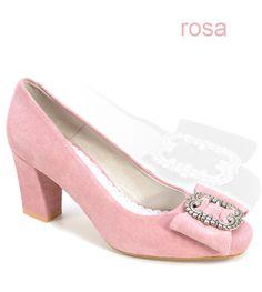 d63934fa303187 Stockerpoint Dirndlschuhe 2260 rosa Pumps. Alpenclassics - Bavarian Styles  · Trachten Schuhe Damen