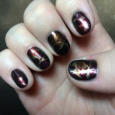 Falling Leaves - Autumn nails
