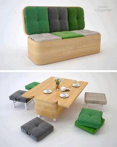 Компактная мебель. / Рукоделие
