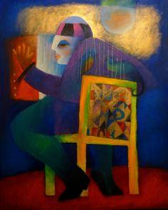 Cor e Pinceladas: Setembro 2011 - 1279 x 1700 Africa Art, Contemporary Art, Draw Faces, Modernism, Drawings, Illustration, Artist, Painting, Painting Art