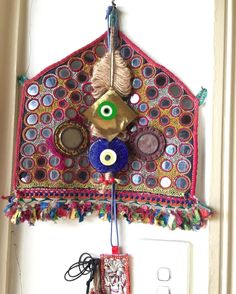 Above the other one at front door. #protection #amulet #evileye