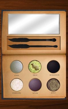 This Harry Potter eyeshadow palette is so perfect our Muggle hearts can't stand it. (That's the Slytherin-inspired one, of course.)
