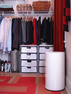 20 ways to organize your bedroom closet