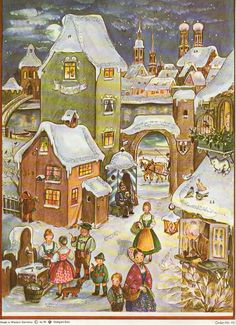 Richard Sellmer Advent Calendar, Order-Nr. 46, Illustrated by Anita Rahlwes
