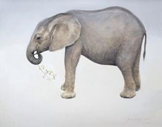 Oil on Canvas. Wildlife and animal oil paintings by Amy Sandys-Lumsdaine
