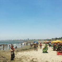 Playa Agua Dulce, Chorrillos, Lima -Perú