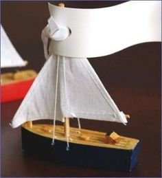 Items similar to set of 30 Wooden Sailboat Place Card Holder Navy Red Wedding Bridal Shower Engagement Party Favor Box on Etsy Nautical Favors, Nautical Wedding Theme, Nautical Party, Nautical Cake, Navy Party, Sailboat Cake, Wooden Sailboat, Engagement Party Favors, Wedding Favors