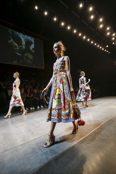 Your ticket up close and personal to the Dolce & Gabbana fashion show