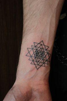geometric mandala tattoo - Szukaj w Google
