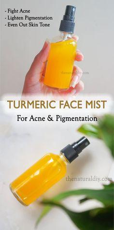 Face Skin Care, Diy Skin Care, Natural Facial, Natural Skin Care, Turmeric Facial, Diy Turmeric Face Mask, Diy Cosmetic, Facial Care, Facial Diy