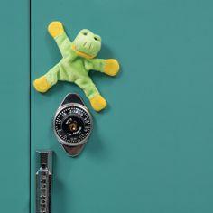 Locker Rockers® Locker Buddies - Plush animal magnets add a friendly face to lockers and Locker Supplies, Cool School Supplies, Plush Animals, Rockers, School Fun, Magnets, Childhood, Toys, Face