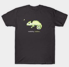 8 Bit, Chameleon, Programming, Real Life, Store, Mens Tops, T Shirt, Stuff To Buy, Shopping