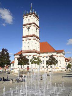 Die Stadtkirche von #Neustrelitz Foto: Roman Vitt #meckpomm #seenplatte #kleinseenplatte #urlaub #städte #mv #mecklenburg