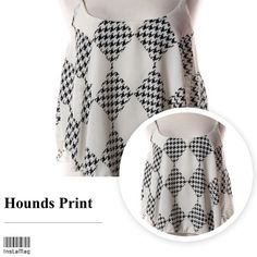 "HOST PICK! 1/24 HOUNDS PRINT TANK TOP This is such a cute top! Floaty and delicate, it looks great with anything you pair it with. 100% polyester, made in USA.                                                                                                                         2 Small, 1Large.          Small: Bust 34"" Large:  Bust: 36"" Genre Tops Tank Tops"