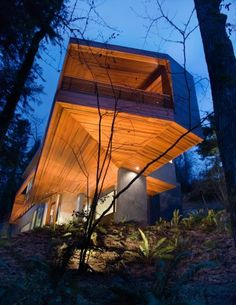 Portland´s Forest Park was designed by US Architects Skylab Architecture.
