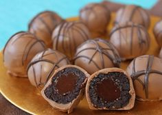 Lava Cake Truffles Recipe