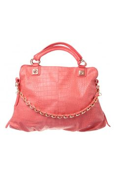 ee49c934f8 Bolt Handle Tote in CORAL  5876 - colette by colette hayman Beautiful  Handbags