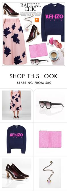 """Radical chic"" by teoecar ❤ liked on Polyvore featuring Kenzo and popmap"