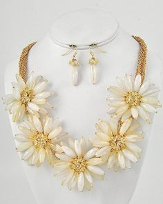 Soap Opera Jewelry has Katherine Chancellor's Flower Necklace from Young & The Restless!