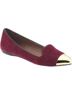 Dolce Vita flats with metallic accent