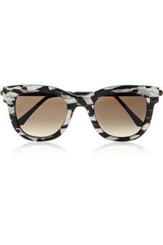 7ddaa9c4fdf Thierry Lasry - Sexxxy D-frame acetate and metal sunglasses