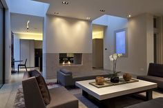 The Old Vicarage | Home interior design | Living room design by modern architects Stiff and Trevillion