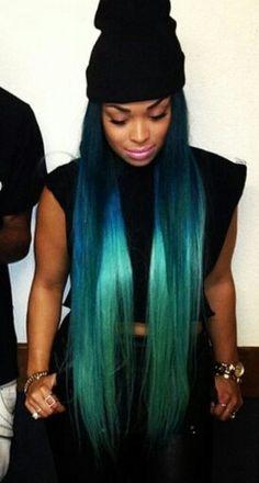 Hairstyles weave longhair hairstyles pinterest colored mermaid hair pmusecretfo Images