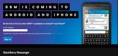 Blackberry Messenger kommt bald für Android - http://www.mrmad.de/blackberry-messenger-android-3008 Wer bislang immer mit neidischen Blick auf Q10 & Co geblickt hat, kann sich freuen: wie RIM bekannt gab, wird der Blackberry Messenger bald für Android erscheinen.