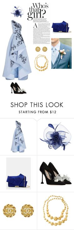 Cinderella . by muayid on Polyvore featuring Monique Lhuillier, Ted Baker, Marco Bicego and Chanel