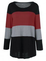 striped single pocket tunic t-shirt | sammy dress, join and 50th