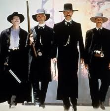 Tombstone.  Even the bad guys were all handsome in this one.  One of my favorite movies ever.