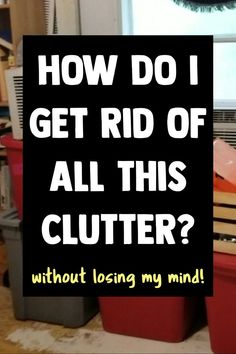 When organizing your home, clutter organization is NOT the answer - especially if you're feeling overwhelmed by your messy house and all the CLUTTER. Here's how to declutter and organize your entire house even if you're on a budget Office Desk Organization, Clutter Organization, Home Organization Hacks, Organization Ideas, Household Organization, Organizing Tips, Organising, Getting Organized At Home, Getting Rid Of Clutter