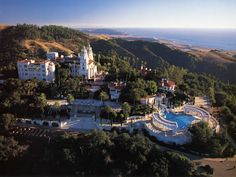 Hearst Castle in Central California.  I drove past once and would love to make a formal visit.