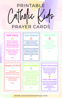 Catholic Catechism, Catholic Religious Education, Catholic Bible, Catholic Religion, Catholic Kids, Catholic Prayers, Catholic Saints, Prayers For Children, Kids Prayer