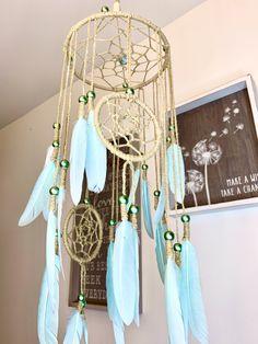Tribal Nursery, Boho Nursery, Nursery Room, Girl Nursery, Nursery Decor, Bedroom, Dream Catcher Mobile, Dream Catcher Boho, Dream Catchers