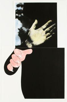 John Baldessari, Two Hands with Distant Figure , 1990, Michael Warren Contemporary
