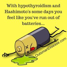 With #hypothyroidism and #hashimotos some days you fell like you've run out of batteries... How do you replenish your energy? Take time for yourself, give yourself a break, eat good quality food that provides high nutrition value and try to relax more. It will positively affect your #thyroid because stress is very thyroid suppressive and is one of major triggers of #autoimmune Hashimoto's flare ups. When you learn how to manage your stress better, you will notice that many areas of your…