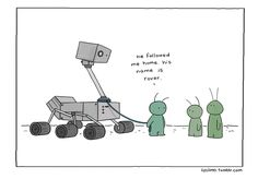 lizclimo:    martian's best friend     Liz does it again. So cute and charming.