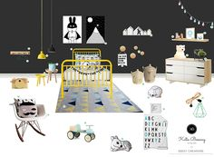 A STYLISH BOYS ROOM THE ENVY OF ANY PARENT - This week we were looking for some inspiration for boys' rooms, so we thought who better to ask than interior designer Katie Bossong.  Katie has created this stunning 'boys room' concept board to help inspire you and features some stylish children's products – using a variety of the Sweet Creations range as well as a few of Katie's favourite picks. #sweetcreations #boys #kids #bedroom #decor #furniture #designer #shoptheblog Stylish Children, Stylish Boys, Kids Bedroom, Bedroom Decor, Concept Board, Boy Room, Envy, Parenting, Rooms
