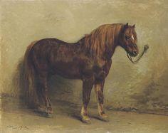 Rosa Bonheur, Tethered pony