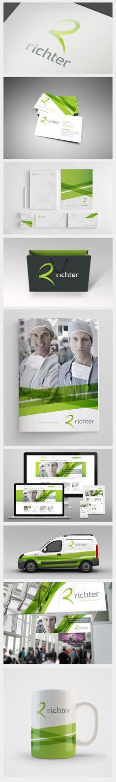 Richter branding.