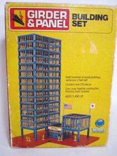 Antique Toys, Vintage Toys, Building Toys, Building Bridges, Cool Car Pictures, Kenner Toys, Old Commercials, Metal Toys, My Childhood Memories