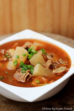 Red Braised Beef Noodle Soup  ChinaSichuanFood
