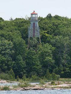 Beausoleil Island Lighthouse, Ontario Canada at Lighthousefriends.com